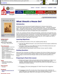 What Should a House Do? Lesson Plan