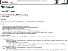 Landfill Project Lesson Plan