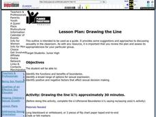 Drawing the Line Lesson Plan