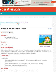 Write a Round-Robin Story Lesson Plan