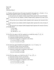 Discussion Sheet 5 Worksheet