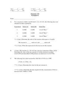 first order reaction lesson plans worksheets reviewed by teachers. Black Bedroom Furniture Sets. Home Design Ideas