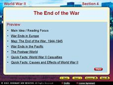 The End of the War: WWII Presentation