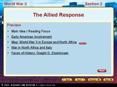World War II - The Allied Response Presentation