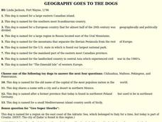 GEOGRAPHY GOES TO THE DOGS Lesson Plan