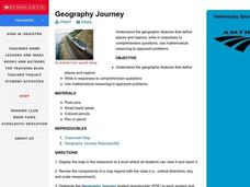 Geography Journey Lesson Plan