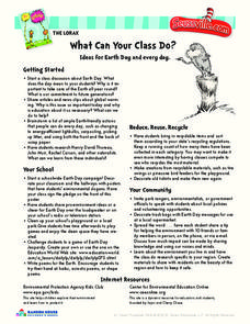 What Can Your Class Do? Activities & Project