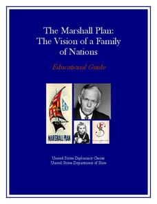 The Marshall Plan: The Vision of a Family of Nations Unit