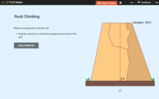 Percent of a Number: Rock Climbing Interactive