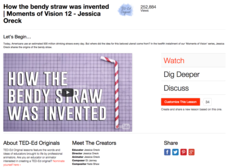 How the Bendy Straw Was Invented Video