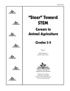 """Steer"" Toward STEM: Careers in Animal Agriculture Unit"