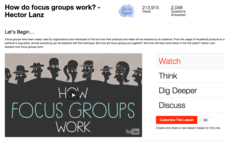 How Do Focus Groups Work? Video