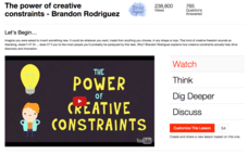 The Power of Creative Constraints Video