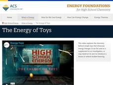 The Energy of Toys Video