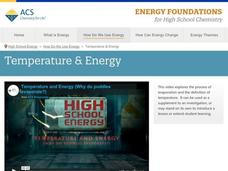 Temperature and Energy Video