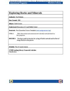 Exploring Rocks and Minerals Lesson Plan