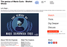 The Genius of Marie Curie Video