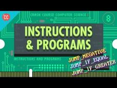 Instructions and Programs: Crash Course Computer Science #8 Video