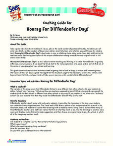 Hooray For Diffendoofer Day! Activities & Project