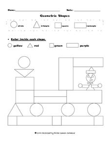 Geometric Shapes Lesson Plan