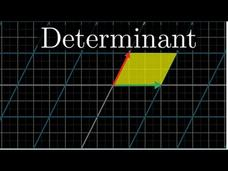 The Determinant | Essence of Linear Algebra, Chapter 5 Video