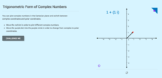 Trigonometric Form of Complex Numbers Interactive