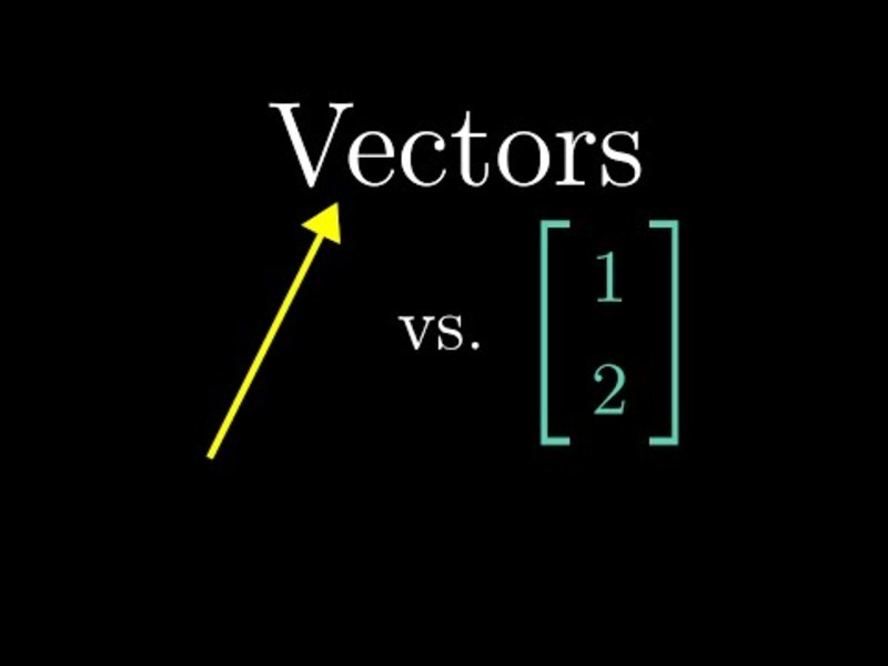 Vectors, What Even Are They? | Essence of Linear Algebra, Chapter 1 Video