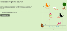 Directed Line Segments: Dog Park Interactive