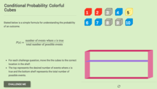 Conditional Probability: Colorful Cubes Interactive