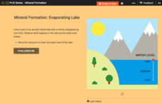 Mineral Formation: Evaporating Lake Interactive