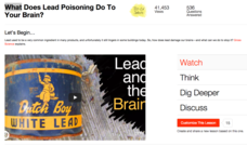 What Does Lead Poisoning Do To Your Brain? Video