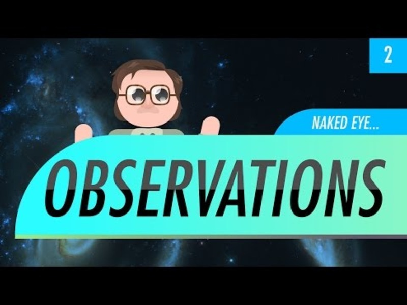 Naked Eye Observations Video