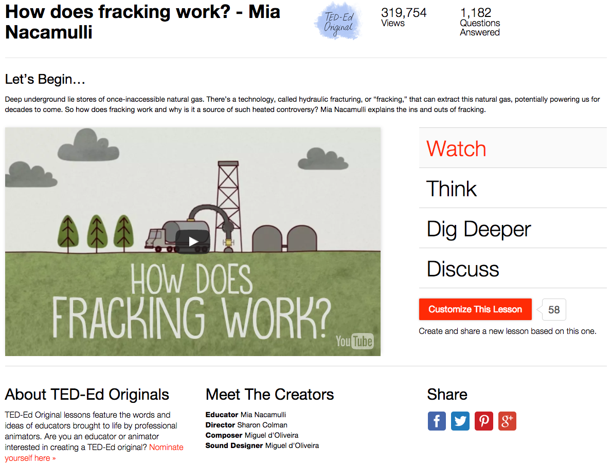 How Does Fracking Work? Video