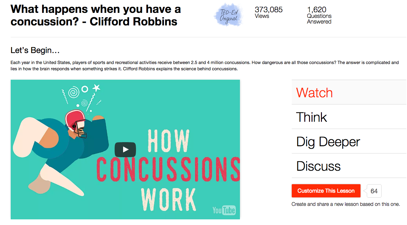 What Happens When You Have a Concussion? Video