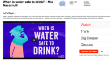 When Is Water Safe to Drink? Video