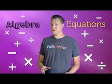 Solving Two-Step Equations Video