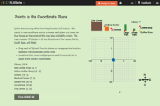 Points in the Coordinate Plane Interactive