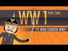 Who Started World War I: Crash Course World History Video