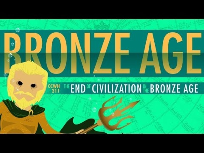 The End of Civilization (In the Bronze Age): Crash Course World History Video