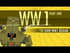 How World War I Started: Crash Course World History 209 Video