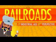 The Railroad Journey and the Industrial Revolution: Crash Course World History 214 Video