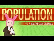 Population, Sustainability, and Malthus: Crash Course World History 215 Video