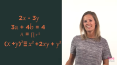 Expressions, Equations, Formulae and Identities Video