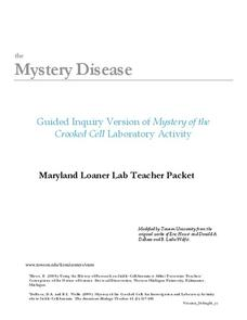 Mystery Disease Handouts & Reference