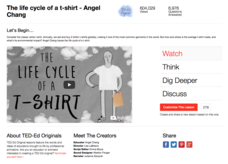 The Life Cycle of a T-Shirt Video