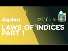 Laws of Indices—Part 1 Video