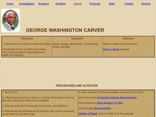 George Washington Carver Lesson Plan