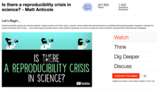 Is There a Reproducibility Crisis in Science? Video