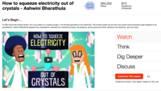How to Squeeze Electricity Out of Crystals Video
