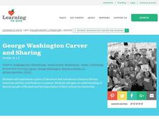 George Washington Carver and Sharing Lesson Plan